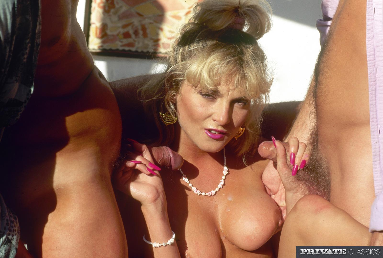 Retro private porn, black men sex naked threesome