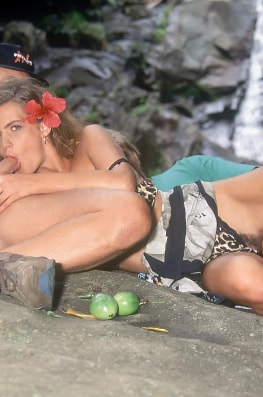 Laura Cat Woman, Return to the Blue Lagoon & The Enchanting Fruit-3