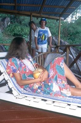 Karina on the Seychelles-1