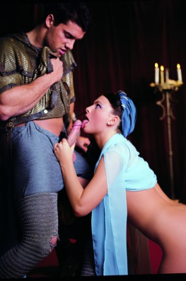 Jessica Fiorentino is Chastity in the lost battle of the Crusades-5
