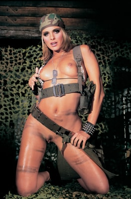 Clara Morgane Joins the Army-1