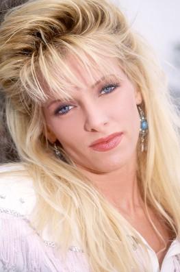 Debbie, On a Texas Ranch...-1
