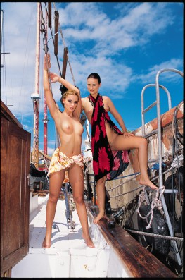 Sailing With Maya Gold & Claudia Rossi-0